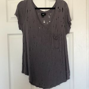 Mossimo T-Shirt with Holes